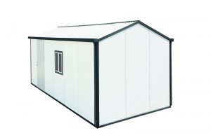 Gable Roof Insulated Building