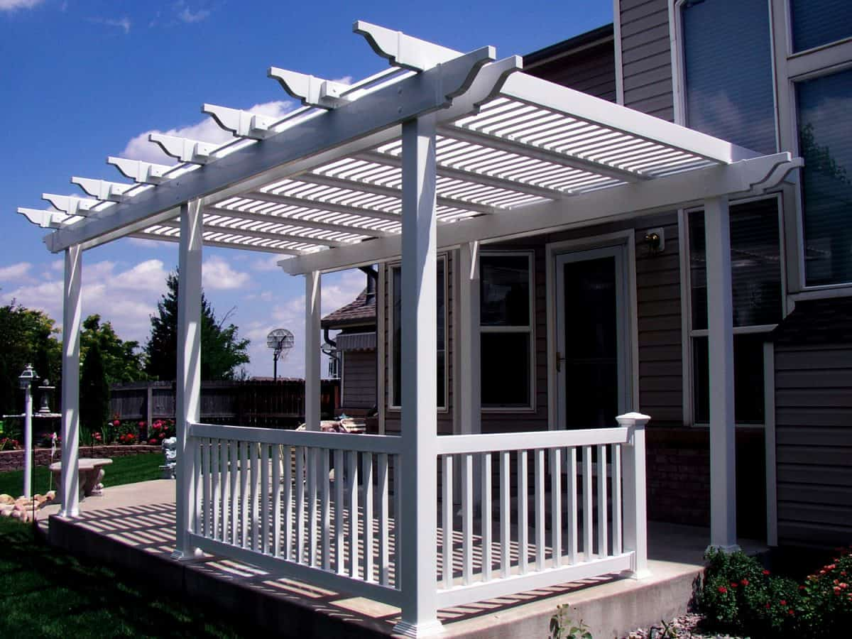 Free Standing Patio Cover-Duramax