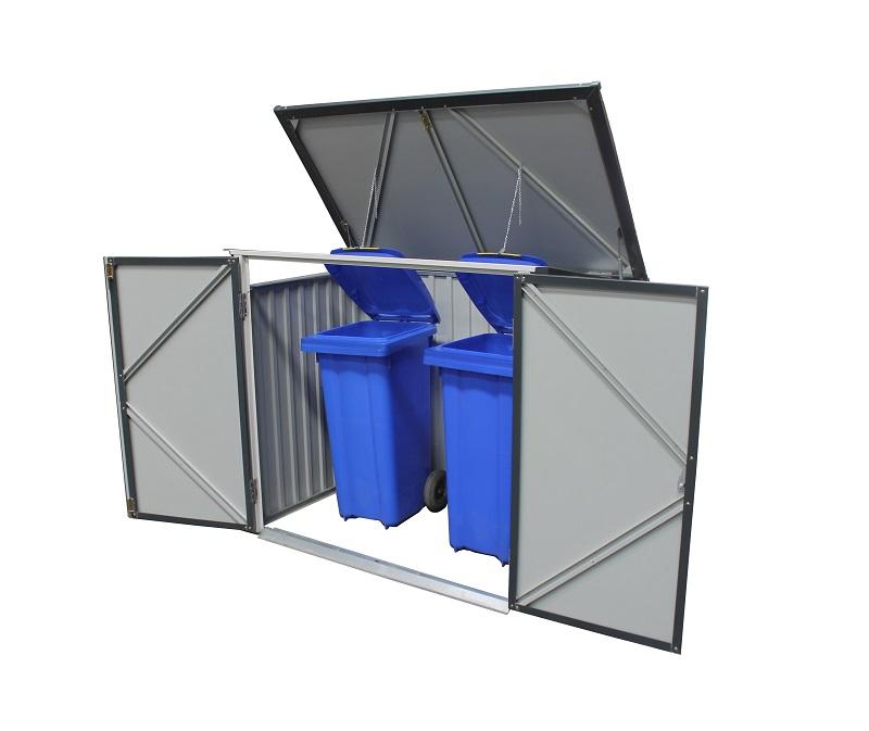 Metal Garbage/Recycle Bin Enclosure