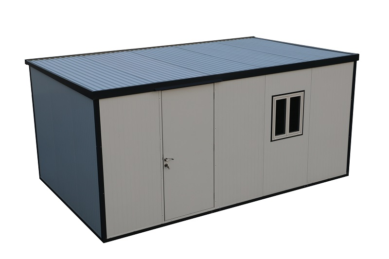 Flat Roof Insulated Building 13x10