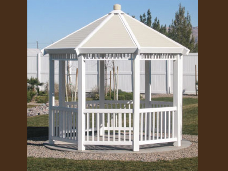 Traditional Gazebos DMGZ3WH-(9,11,13)