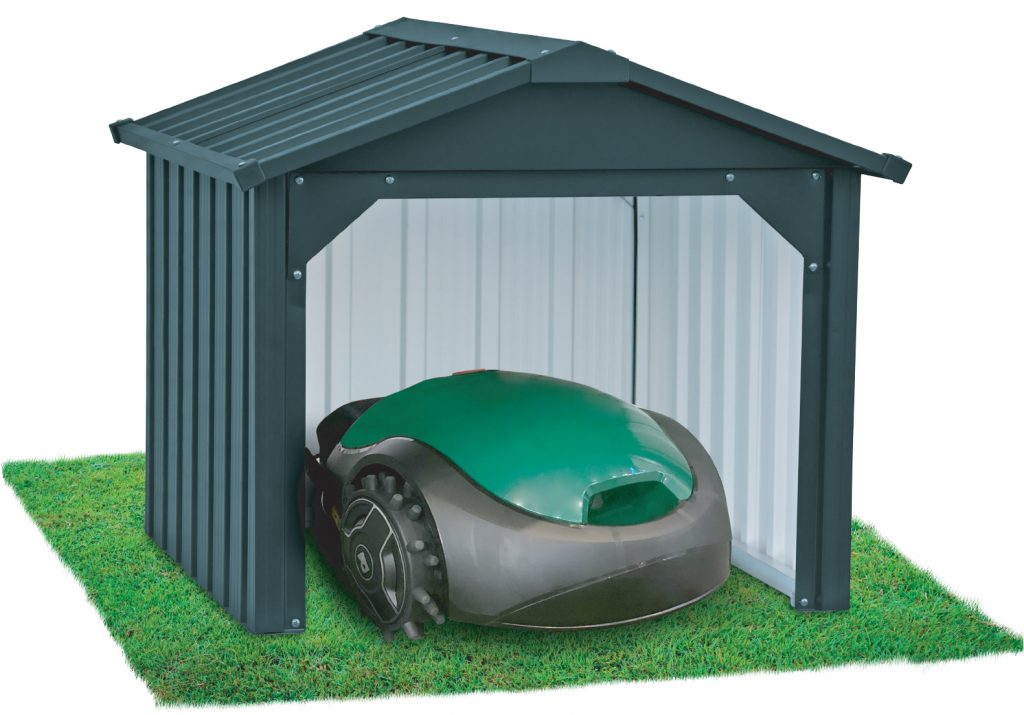 Robotic Lawn Mower closed back