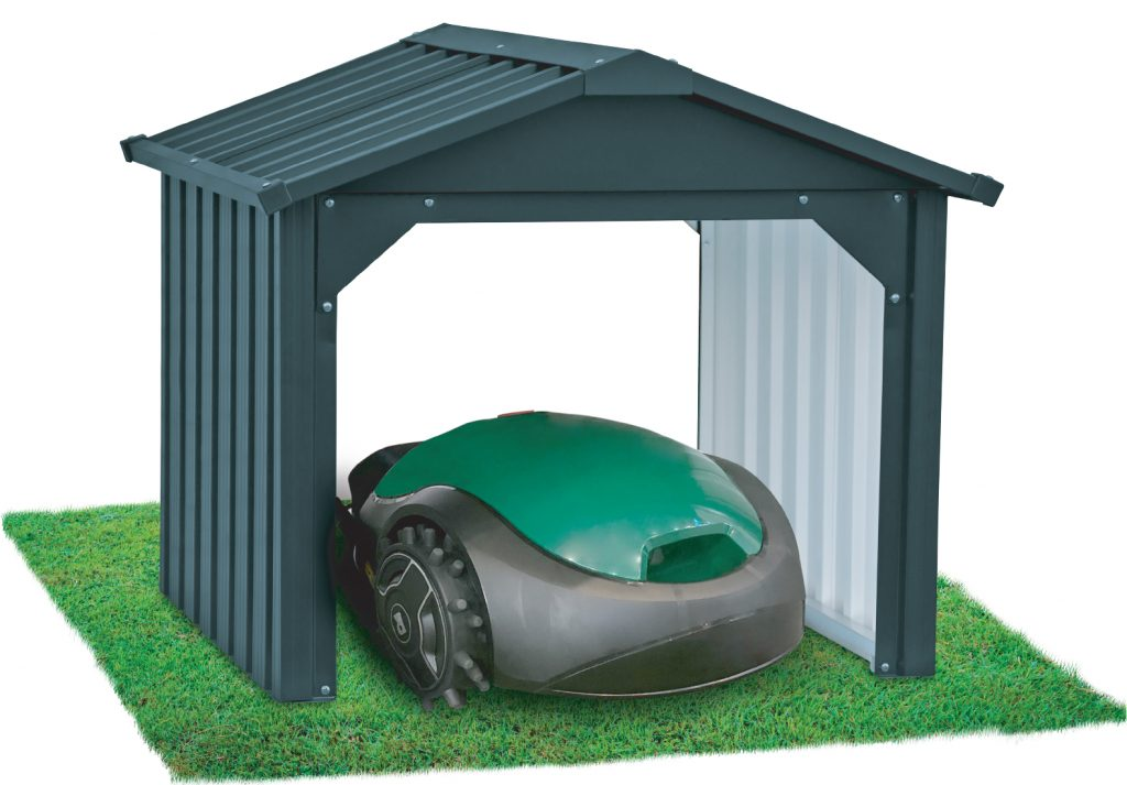 Robotic Lawn Mower open back