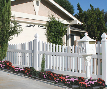 Durable Vinyl Fencing Denver