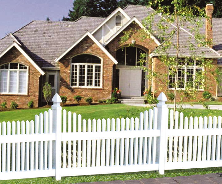 Work with the top vinyl fence in Ventura