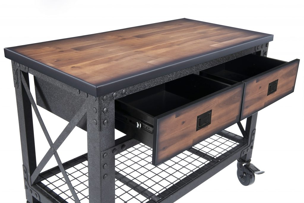 Rolling Workbench 2 drawers 48