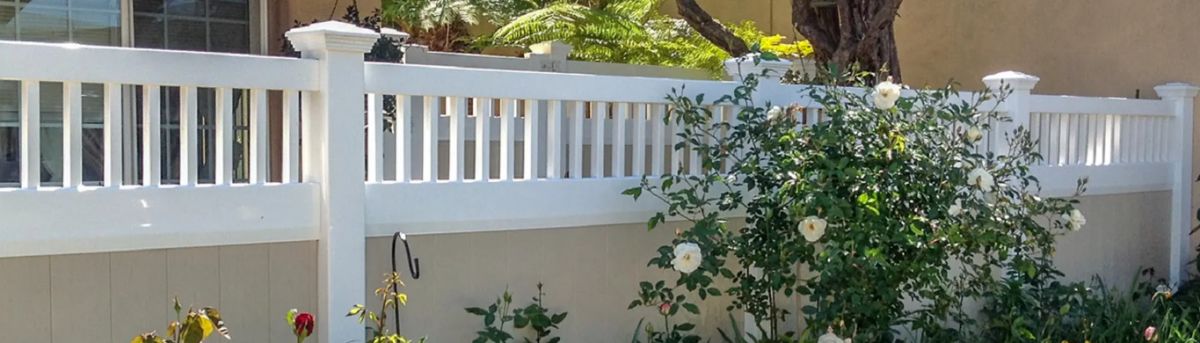 custom vinyl fencing Denver