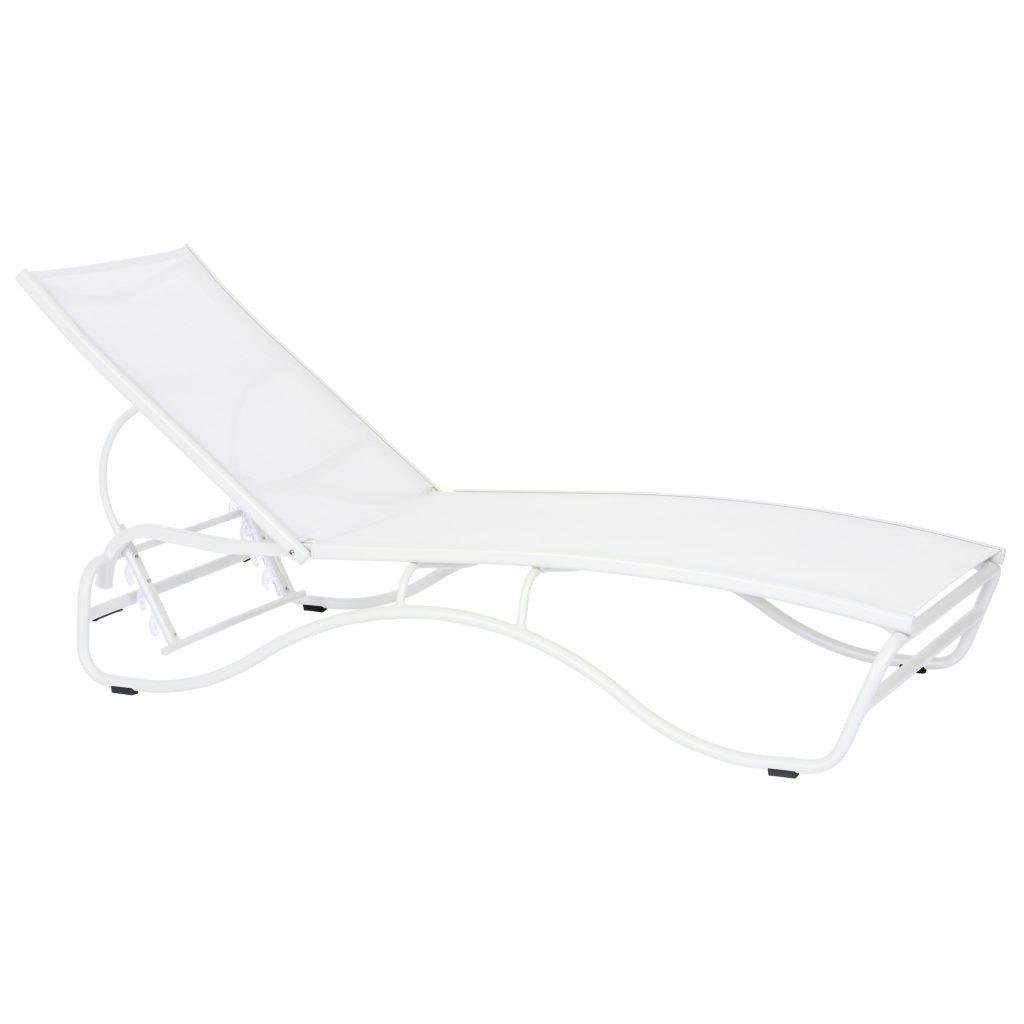 Corsica Lounger White