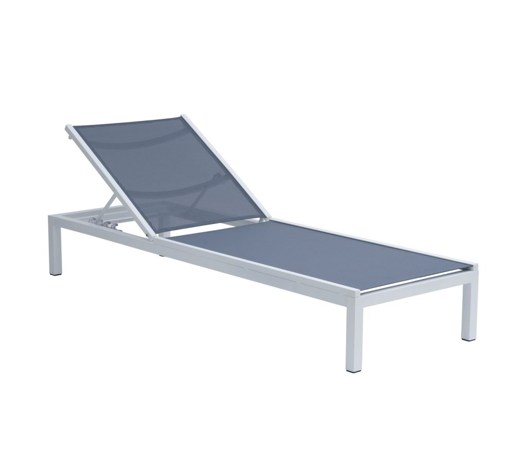 Niki Lounger Grey