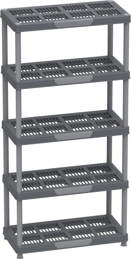 Multipurpose Freestanding 5 Tier Shelving