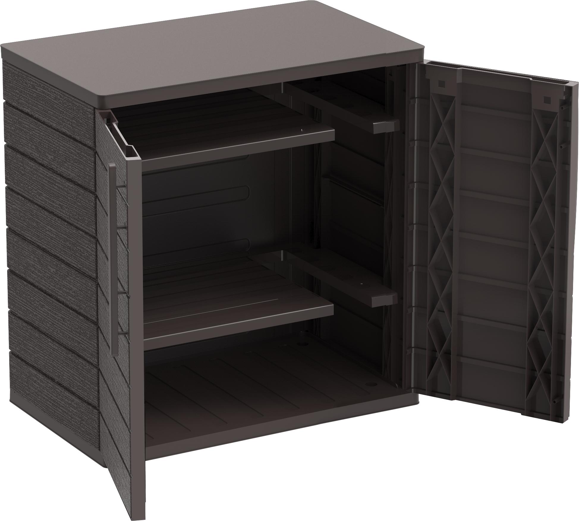 Cedar Grain Vertical Cabinet Short A