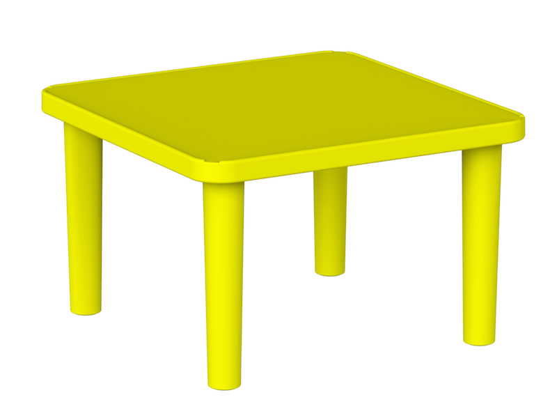 Kindergarden Table Square