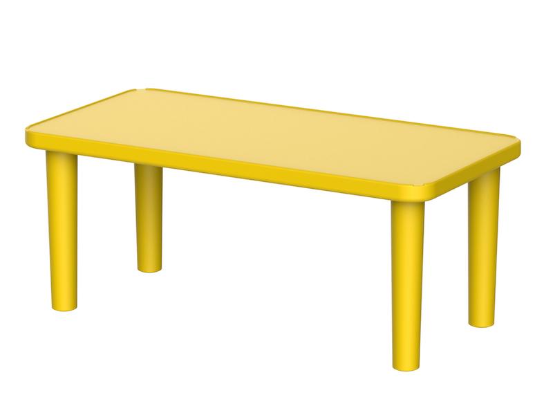 Kindergarden Table Rectangle