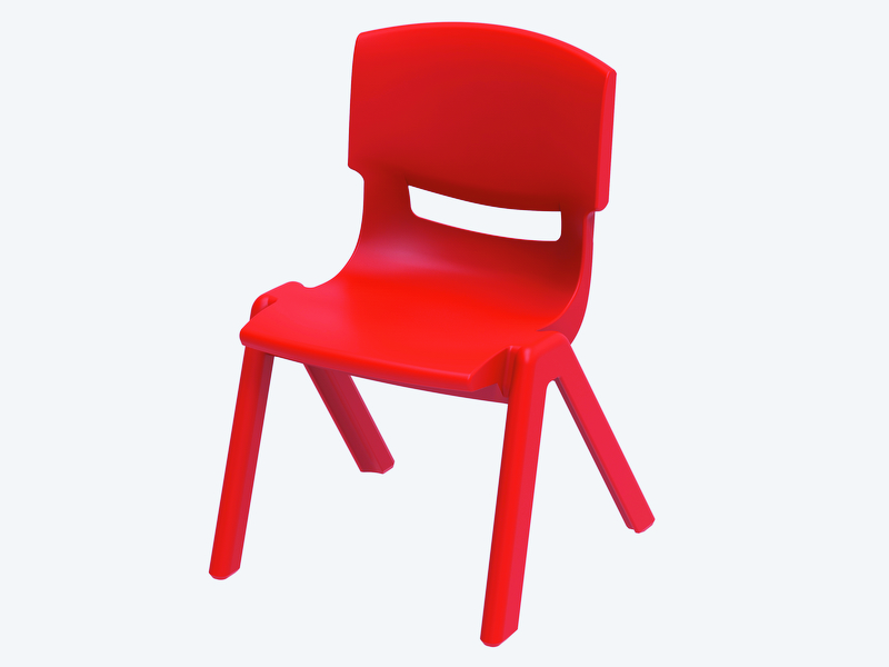 Junior Deluxe Resin Chair